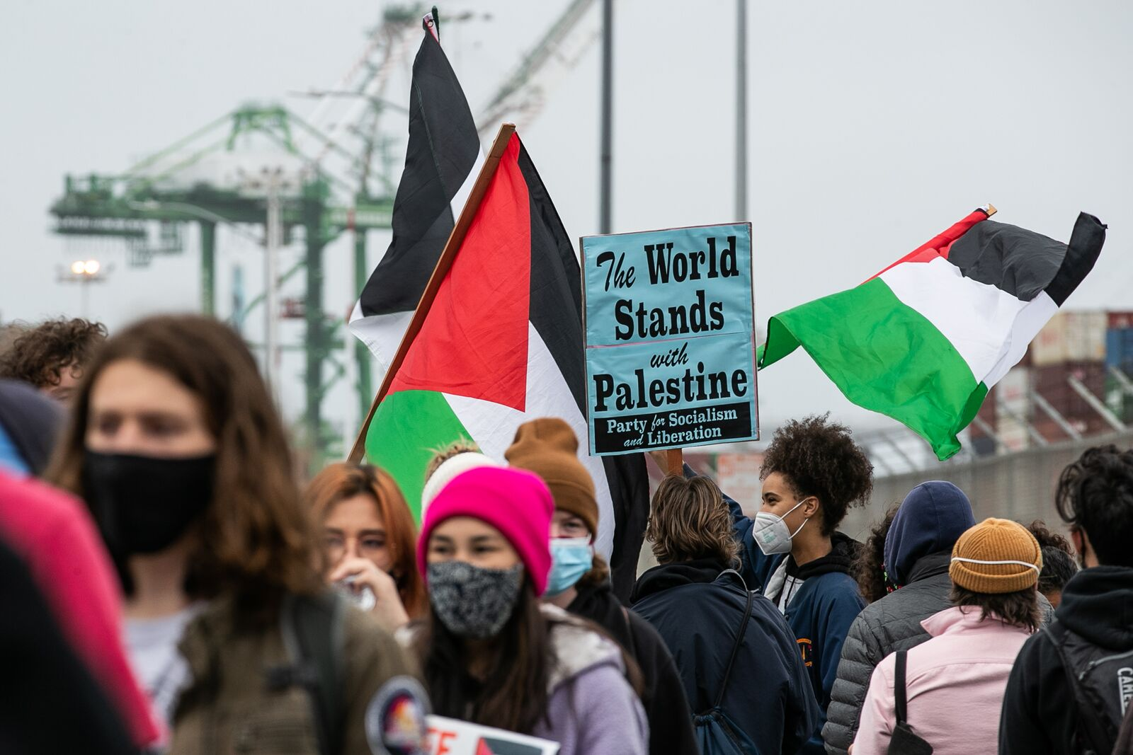 Pro-Palestine ship blockade is the latest chapter in the Port of Oakland's activist history