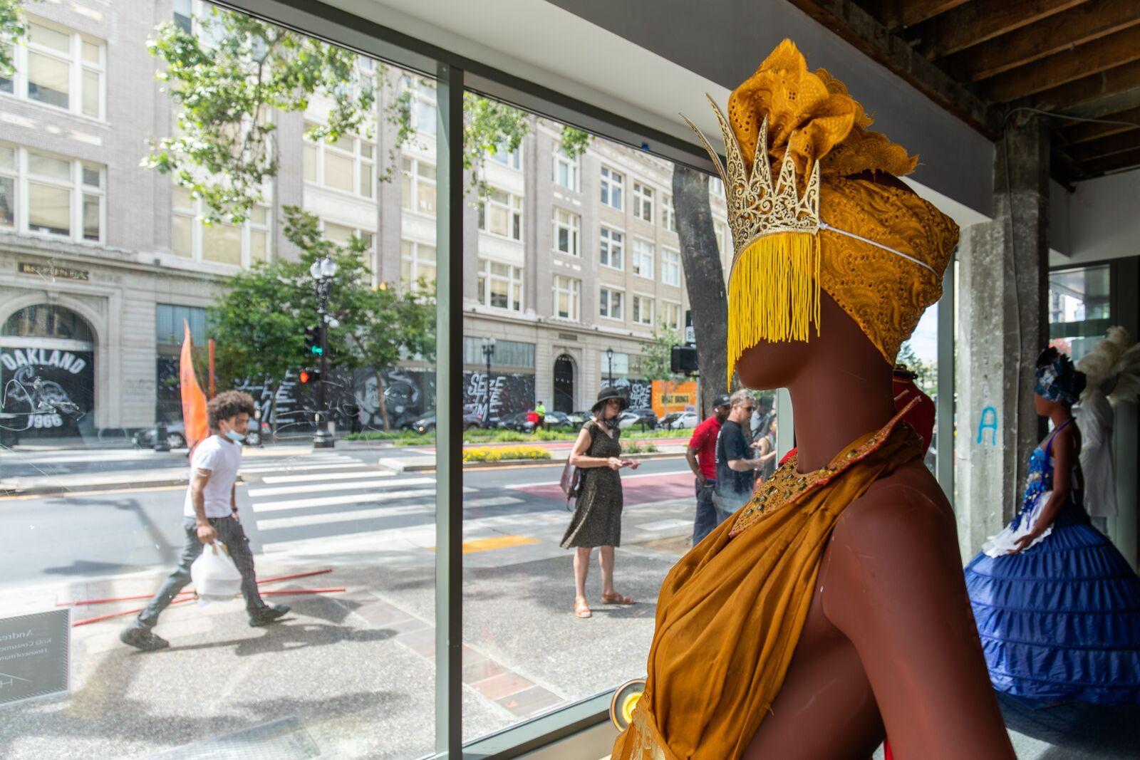 In downtown Oakland, 30+ storefronts display art celebrating Black joy